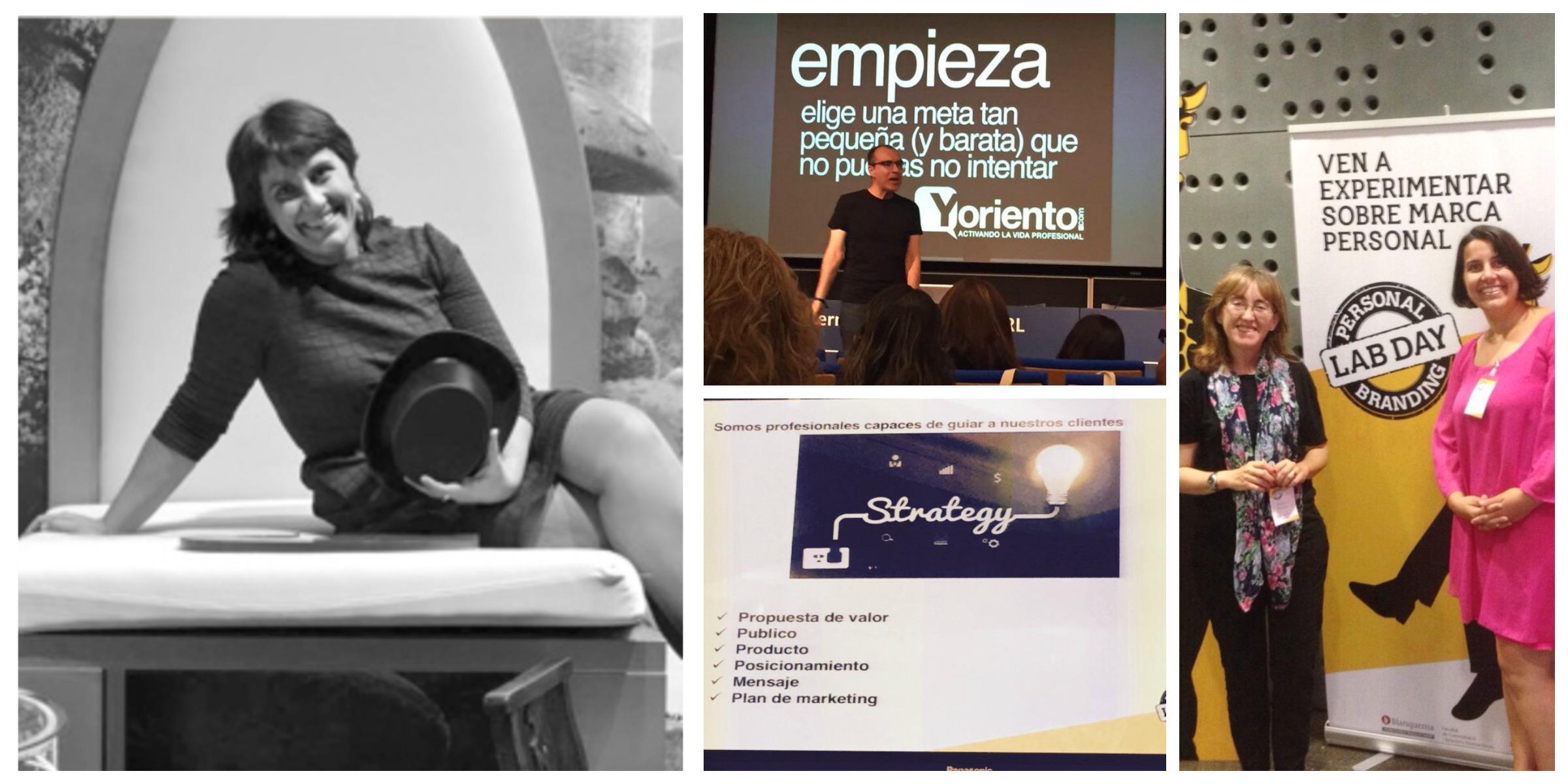 Joana Aranda en el Personal Branding Lab Day