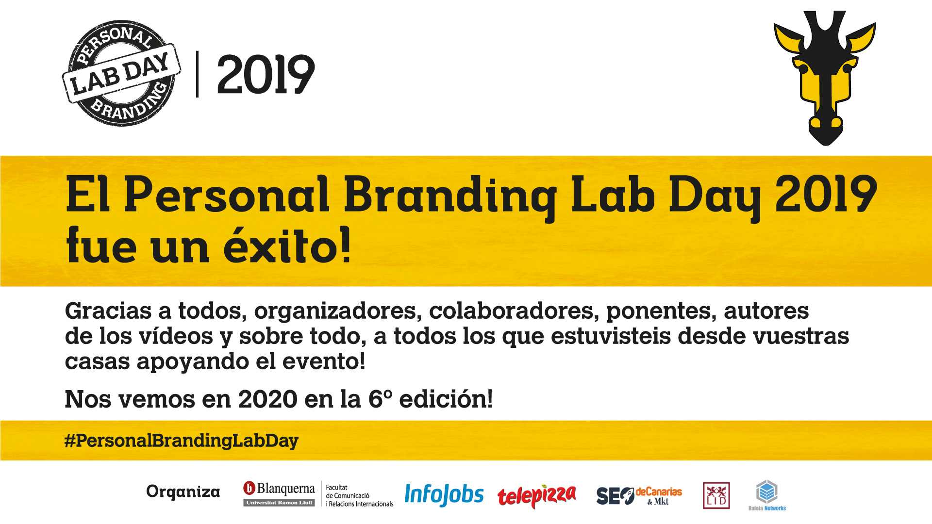Éxito Personal Branding Lab Day 2019