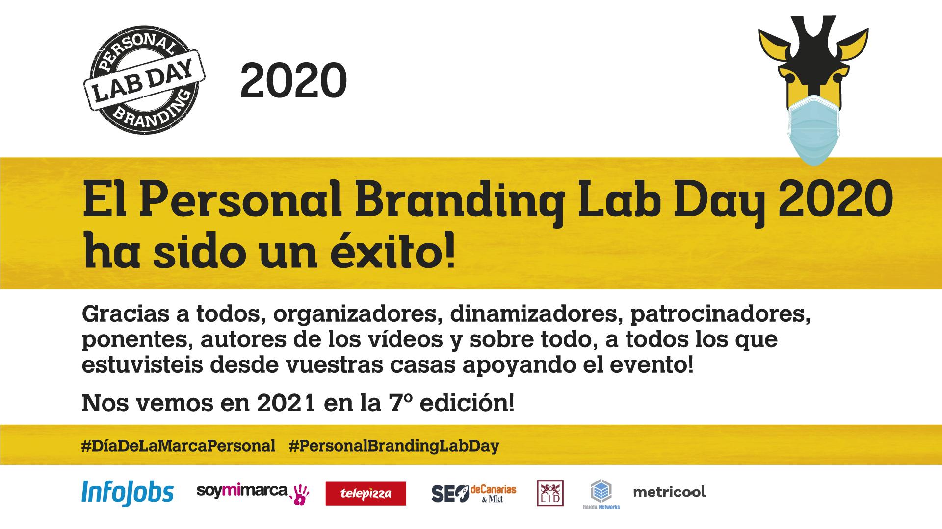 Personal Branding Lab Day 2020